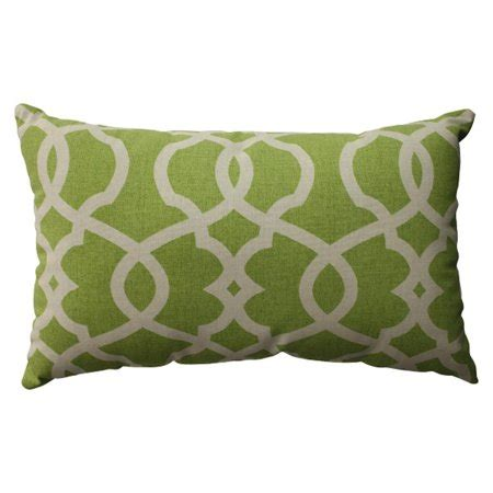 apple green decorative pillows 18 5 quot green apple scrolling rectangular decorative throw