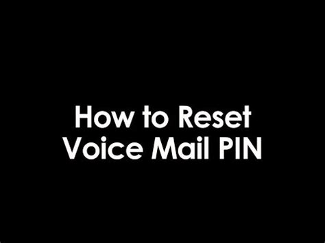 how to reset iphone voicemail password if forgotten how to reset voicemail password on an avaya phone