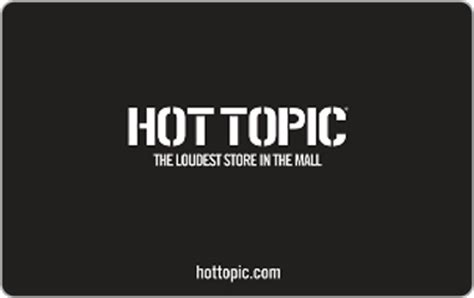 Hot Topic Gift Card - hot topic gift card