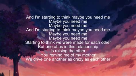 eminem need me eminem need me ft p nk lyrics youtube