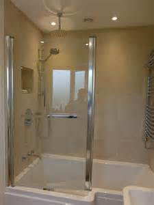 Short Shower Bath Small Bathroom Renovation Wiltshire Style Within