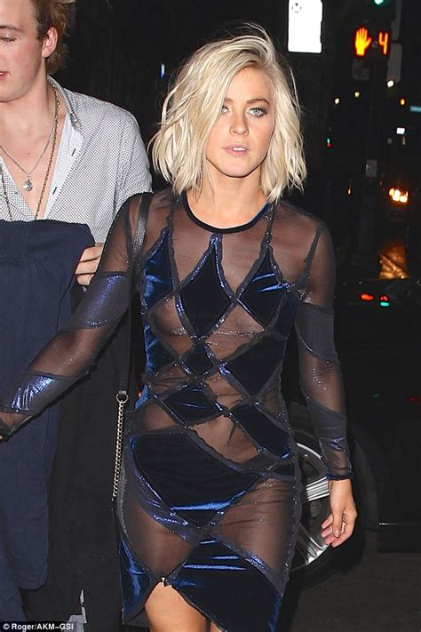 Julianne Hough Wardrobe Malfunction Pictures julianne hough suffers a nip slip and nearly tumbles leaving dwts afterparty daily mail