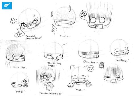 painting 2 0 expression in chibi expression 2 by laurentiusmark93 on