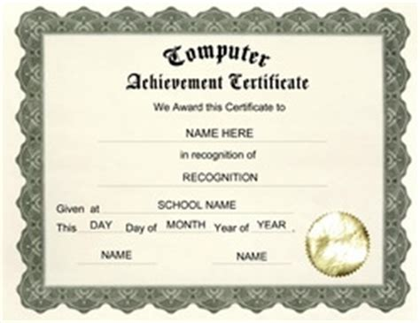 awards certificates free templates clip art wording