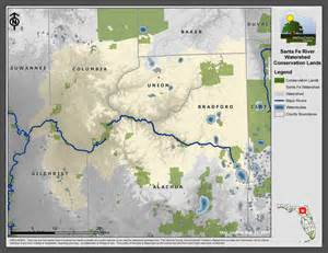 florida river map maps our santa fe river