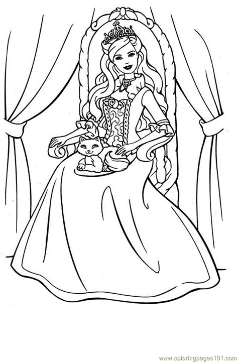 Princess Print Out Coloring Pages Coloring Home Princess Coloring Page Printable