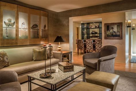 The Living Room Lounge Oak Brook Oak Brook Residence Traditional Living Room Chicago