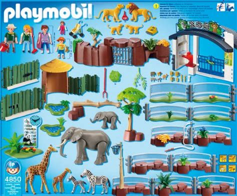 Playmobil Large Zoo With Entrance playmobil large zoo with entrance buy in uae