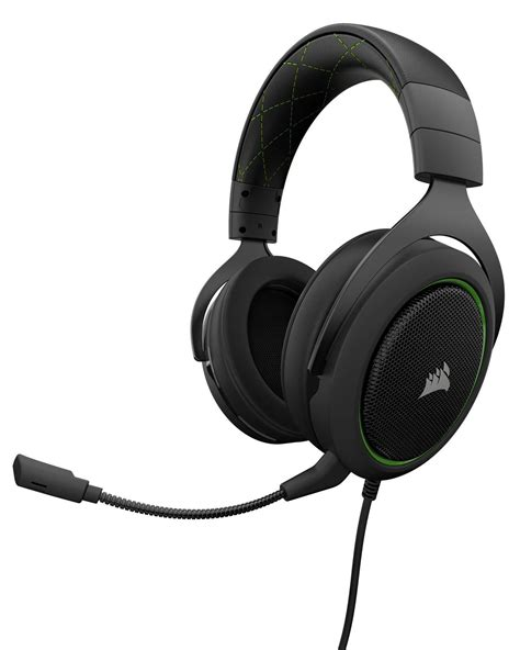 Headset Corsair corsair hs50 stereo gaming headset green ca 9011171 eu novatech