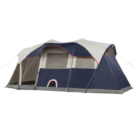 coleman weathermaster 6 person 2 room tent new coleman weathermaster 6 person 3 room screened tent ebay
