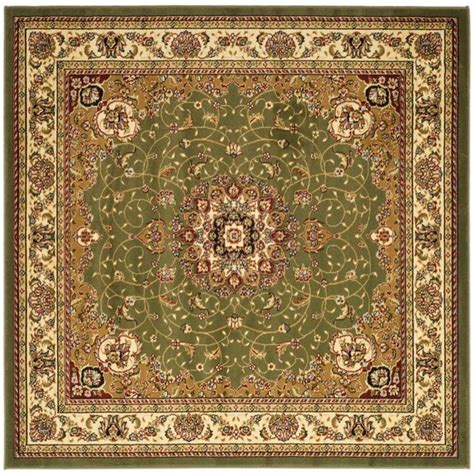 Safavieh Damask Sage 6 Ft X 6 Ft Round Area Rug Msr3124b Rugs 6 Ft