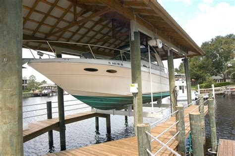 boat house lift boat house lift miami panama city jacksonville charleston