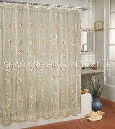china voile shower curtains pjesc03 china voile curtains