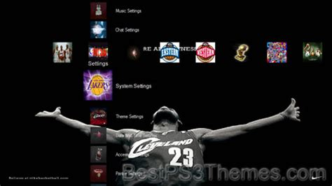 ps4 themes sports nba greatest best ps3 themes