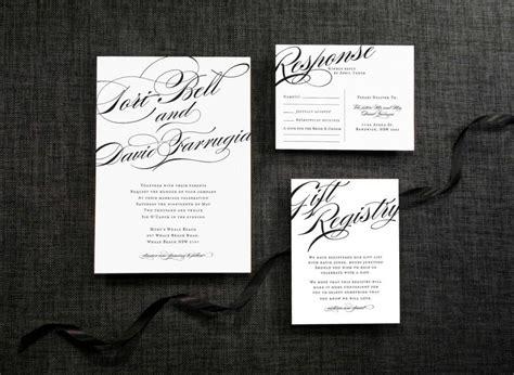 how to calligraphy wedding invitations diy diy printable wedding invitation calligraphy 4 pieces 2483170 weddbook