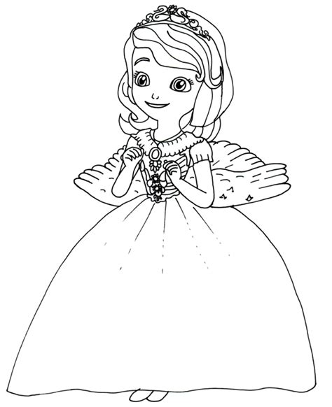 coloring pages sofia the first coloring pages cartoons