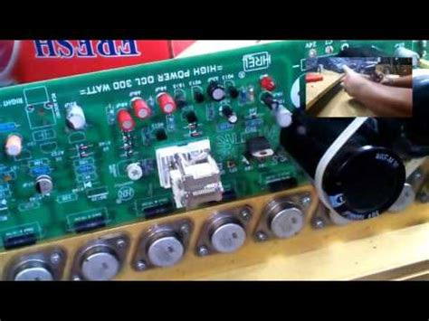 Ocl 300 Watt Mp3 Power Lifier 300 Watt Upgrade Ke 600 Watt