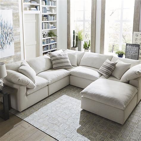 u shaped sectional sofa with recliners envelop small u shaped sectional bassett home furnishings