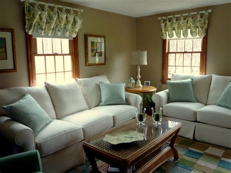Plants In Vases Updated Colonial Style Home Traditional Living Room