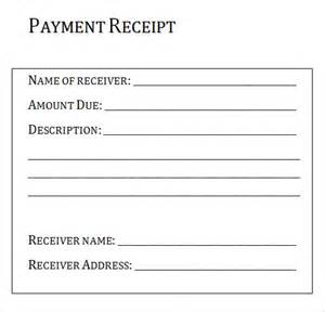 Receipt For Payment Template Free Receipt Template 15 Download Free Documents In Pdf