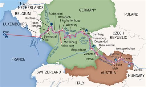 river boat cruises europe ratings charting europe s river boat routes
