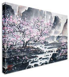japanese cherry blossom anime wallpaper google search