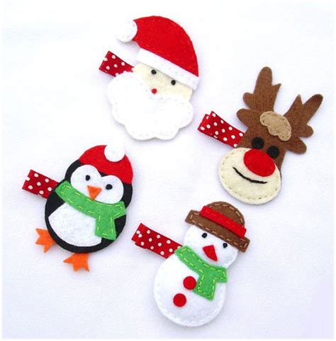 25 best christmas hair clips 2012 for girls kids