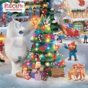 rudolph the red nosed reindeer 174 village set