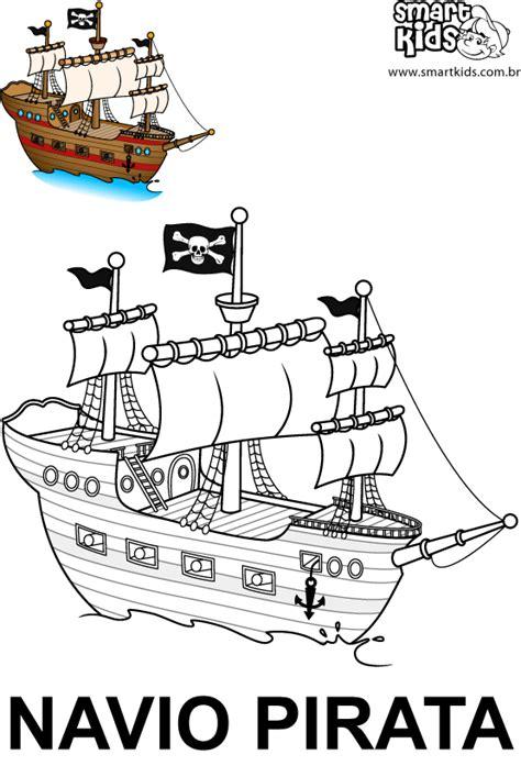 barco pirata infantil para imprimir colorir desenho navio pirata desenhos para colorir