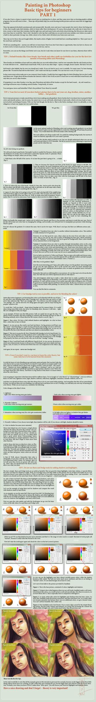paint tool sai gradient map color and shading on drawing tutorials deviantart