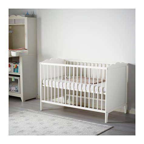 Baby Cot Ikea hensvik cot white 60x120 cm ikea