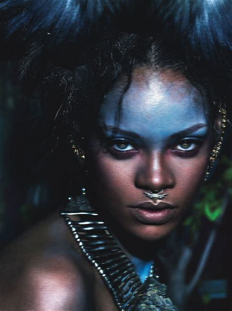 Wild Style Icon Rihanna Is W Magazine's September 2014 Cover Star Photos   W Magazine