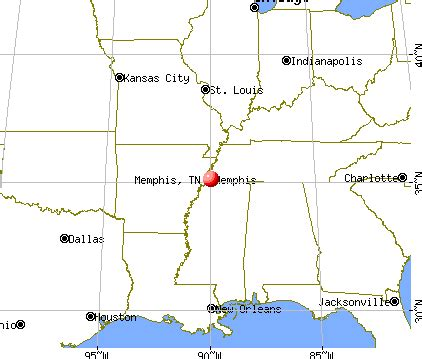 Memphis Map Usa by Memphis Tennessee Tn Profile Population Maps Real
