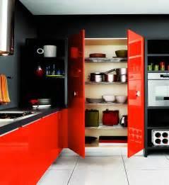 Red Kitchen Decor Ideas Modern Kitchen Interior Design With Red And Black Share