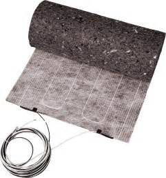 Radiant Floor Mats Carpet Thermofloor Laminate Electric Radiant Heating System