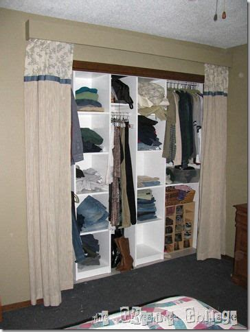 closet curtain ideas for bedrooms closet curtain apartment bedroom ideas pinterest