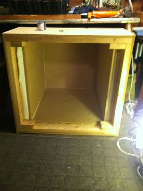 diy guitar speaker isolation cabinet diy isolation cabinet guitar amp mf cabinets