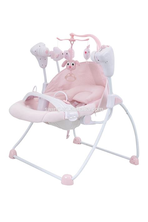 electric swing baby selling electric baby doll swing with dinner plate and