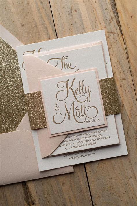 wedding invitation card template blush blush and gold wedding invitations blush and gold wedding