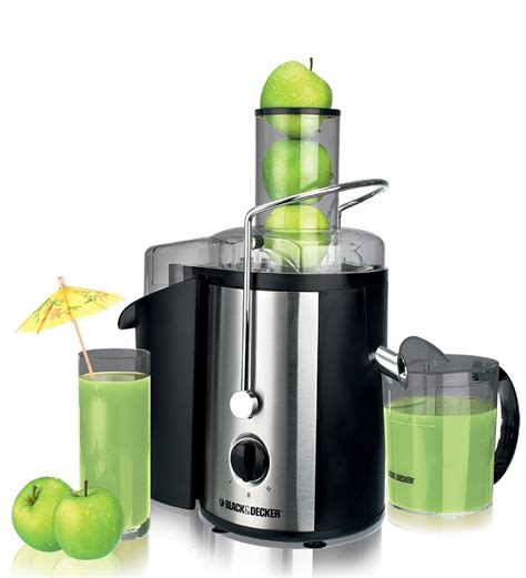 Kitchen Design With Black Appliances Black Amp Decker 700w Full Apple Juice Extractor By Black