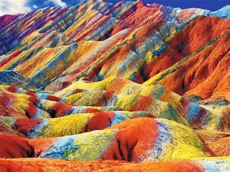 gunung pelangi  china indah