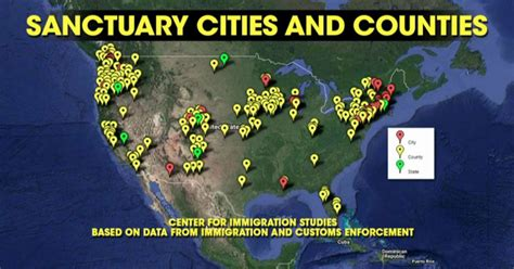 united states map of sanctuary cities sanctuary cities are preparing for war with is