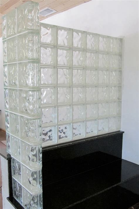 how to glass l how to select a shape for your glass block shower wall