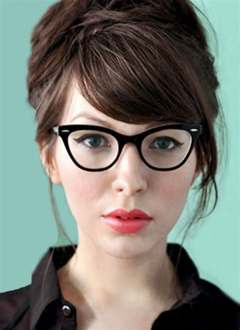hairstyles to make glasses look good 12 hermosos estilos de cabello para mujeres con caras gorditas