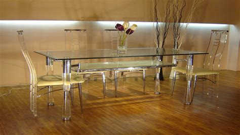 Acrylic Dining Room Set by Dining Room Sets Glass Lucite Dining Table Acrylic Dining