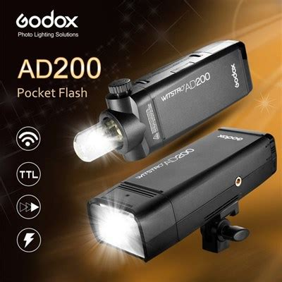 Godox Ad200 Flash Kamera godox ad200 ttl pocket flash kit