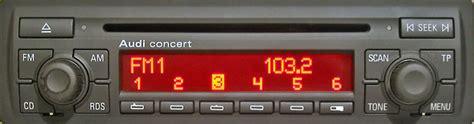 Autoradio Concert Audi by Boitier Usb Sd Aux Mp3 Audi A2 A3 A4 A6 A8 Tt Concert