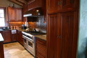 Mahogany Wood Kitchen Cabinets Light Brown And Dark Grey Mahogany Wood Kitchen Cabinets