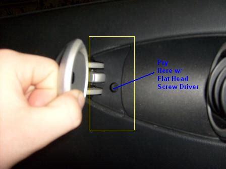 How To Remove 2004 Nissan 350z Door Handle How To