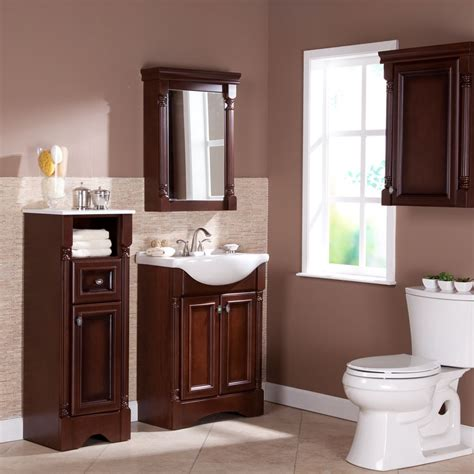 Bathroom Vanity With Matching Linen Cabinet Bathroom Linen Tower